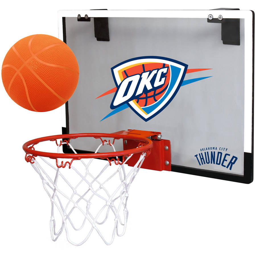 Rawlings NBA Game On Polycarb Hoop Set OKC Thunder