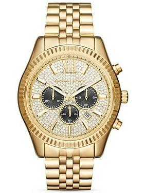 Michael Kors Men's Gold-Tone Lexington Chronograph Watch MK8494