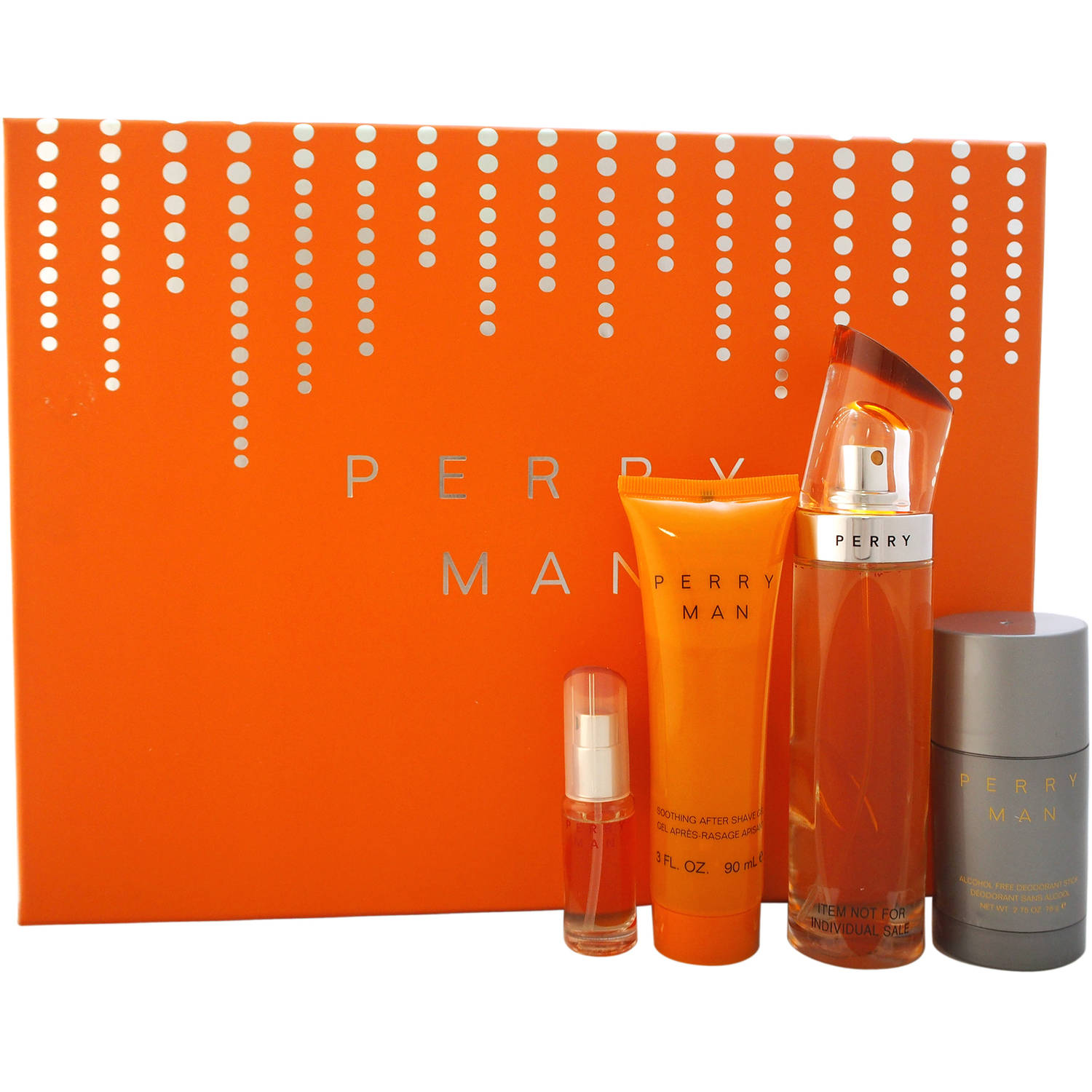 Perry Ellis Perry for Men Gift Set, 4 pc