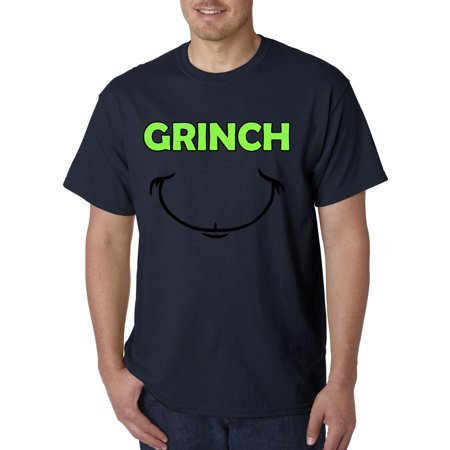 605 - Unisex T-Shirt Grinch Smile Christmas - Grinch Clothes