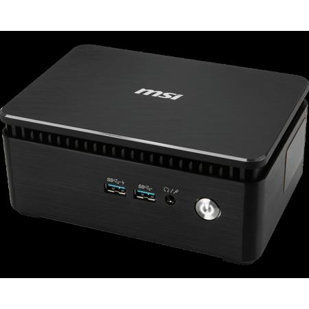 (MSI Cubi 3 Silent S 020BUS Mini PC, Intel Dual-Core i5-7200U Upto 3.1GHz, 8GB DDR4, 512GB SSD Plus 1TB HDD, HDMI, Display Port, USB, Wifi, Bluetooth, Windows 10 Professional 64Bit)