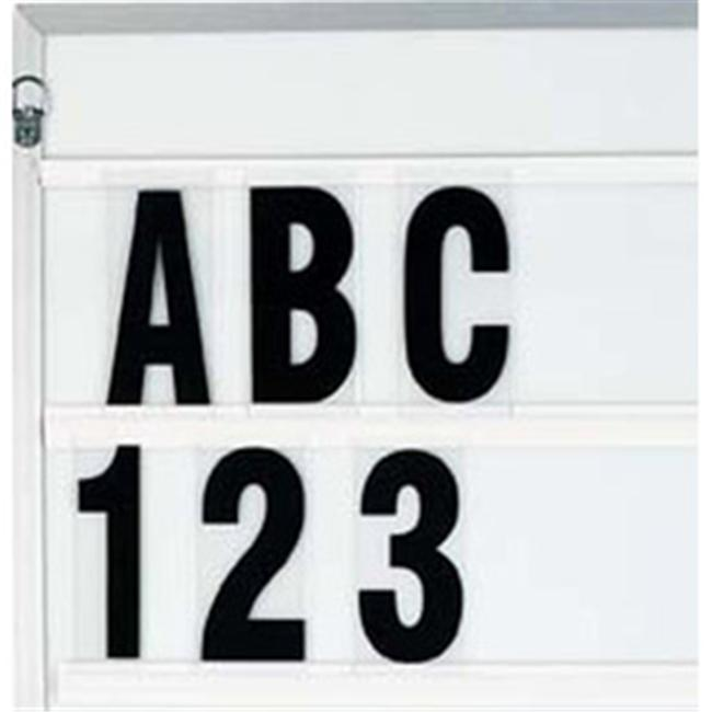 Aarco Products F5.0 Marquee 5 in. Changeable Letters