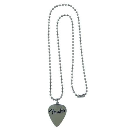 Fender Fans Guitar Heart Shape Logo Necklace Original Fashion Gift Silver Metal Pittsburgh Steelers Logo Heart Pendant