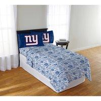 "NFL New York Giants ""Anthem"" Sheet Set, 1 Each"
