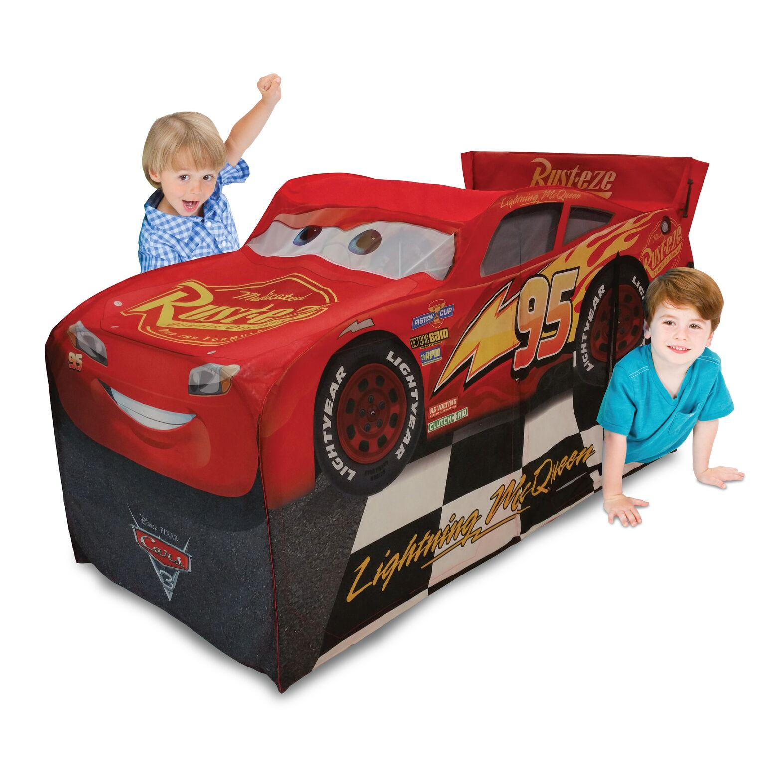 Playhut Cars 3 Legendary McQueen Vehicle Play Tent