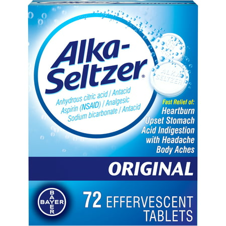 Alka Seltzer Plus Cold (Alka-Seltzer Original Effervescent Tablets, 72)