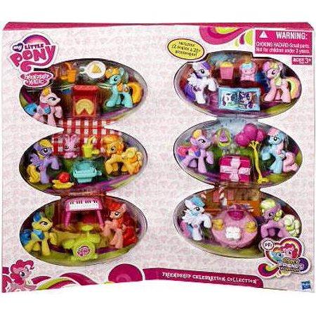 My Little Pony Pony Friends Forever Friendship Celebration Collection Figure Set