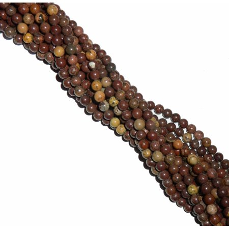 Agate Gemstone Loose Beads (8mm Round Mexican Agate Gemstone, Loose Beads, 15 Inches, Loose)