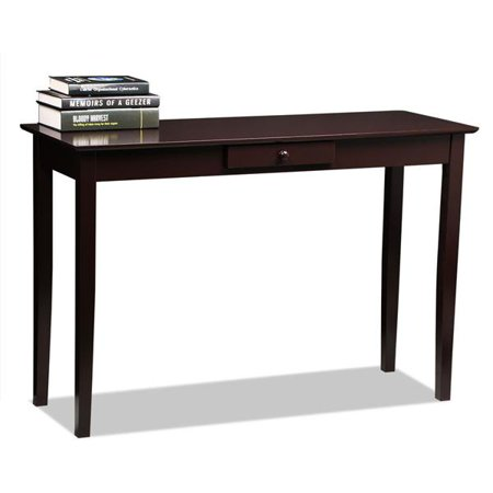 - Yaheetech Wood Console Table Hall Table with One Drawer Living Room Entryway Furniture