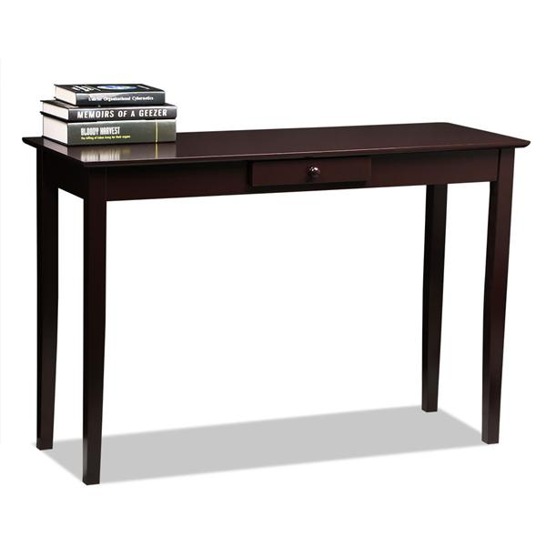 Yaheetech Wood Console Table Hall Table with One Drawer Living Room Entryway Furniture