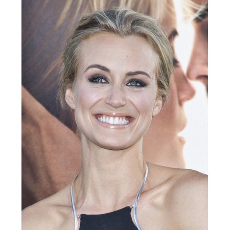 Taylor Schilling At Arrivals For The Lucky One Premiere Graumans Chinese Theatre Los Angeles Ca April 16 2012 Photo By Emiley Schweicheverett Collection Photo Print