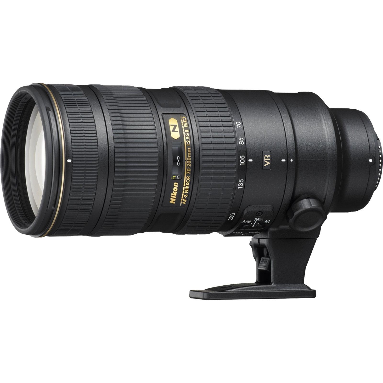 Nikon 70-200mm f/2.8G VR II AF-S ED-IF Zoom-Nikkor Lens - Factory Refurbished includes Full 1 Year Warranty