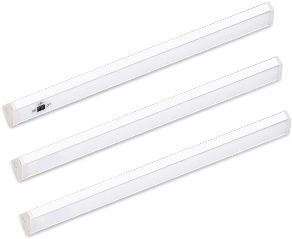 Under Cabinet Lighting Led Shop Lights For Garage Ceiling Kitchen Cupboard With Dimmable Sensor Functions Fluorescent Walmart Canada