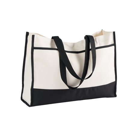 A Product of Gemline Contemporary Tote - BLACK - OS [Saving and Discount on bulk, Code Christo] - Ting Discount Code