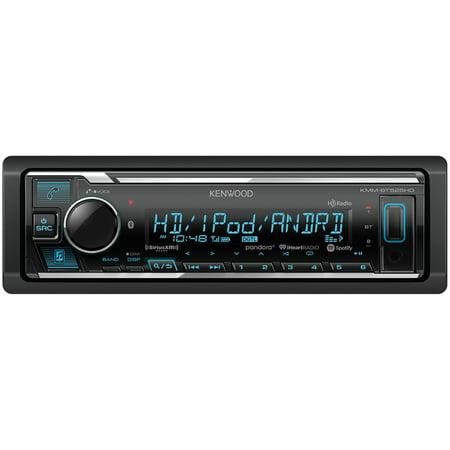 KENWOOD KMM-BT525HD Single-DIN In-Dash Digital Media Receiver with  Bluetooth, HD Radio and SiriusXM Ready