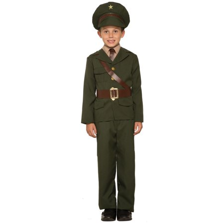 Boys Army Officer Costume - Cheap Army Costumes