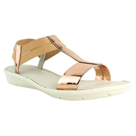 49081faea29 Munro - New Munro Womens Ideal Rose Gold Sandals Size 9.5 - Walmart.com