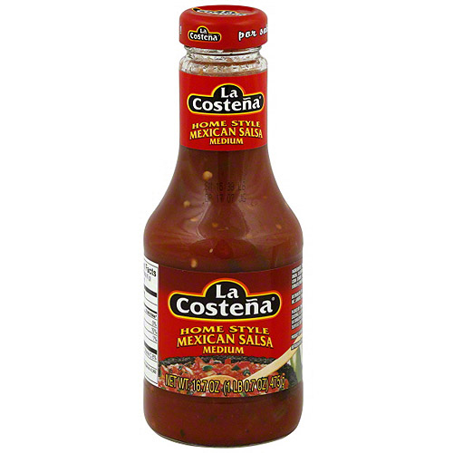 La Costena Homestyle Mexican Salsa, 16.7 oz (Pack of 6)