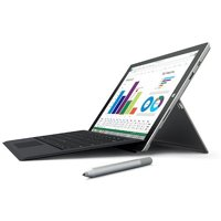 (Refurbished) Microsoft Surface 3 Bundle with Windows 10, Surface Pen (Silver), Surface 3 Type Cover (Black), Intel ATOM X7-Z8700 processor, 2GB Memory, 64 GB Hard Drive