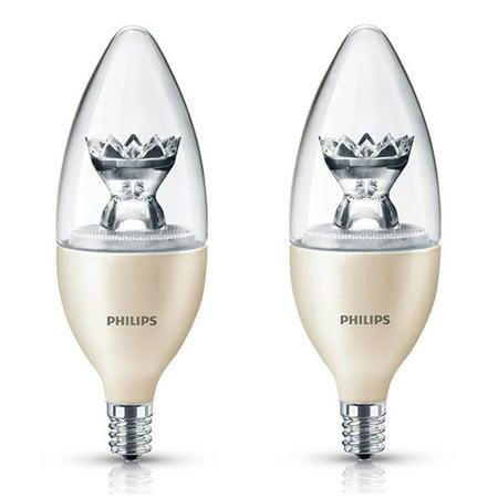 Philips led 2 5 watt 25 watt equivalent dimmable for Lampadine led 5 watt