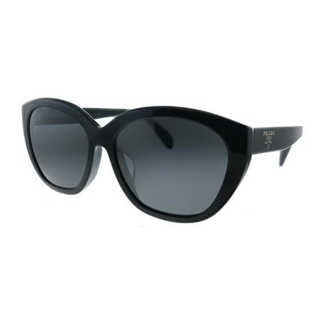 Prada PR 16XSF 1AB5S0 Womens Oval Sunglasses