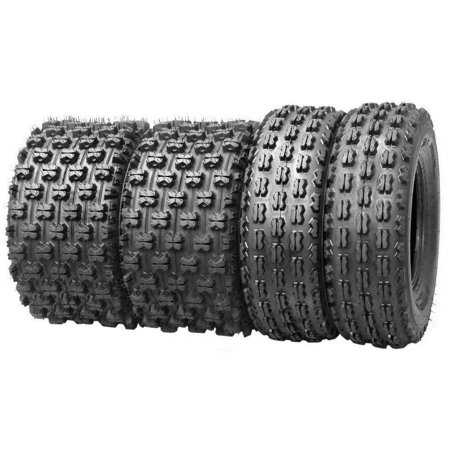 4 Wanda Sport ATV tires 22x7-10 22x7x10 Front & 22x10-9 22x10x9 Rear GNCC