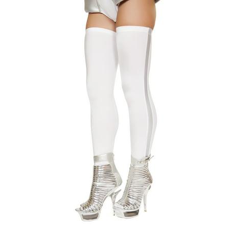 Astronaut Leggings - ST4736-AS-O/S - White/Grey - image 1 de 1
