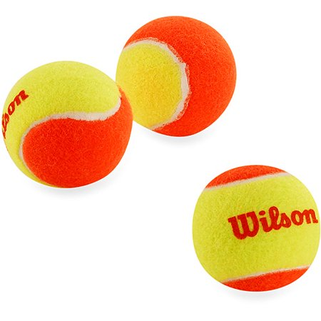 Wilson Us Open Orange Starter Tennis Balls   3 Pack Of Balls