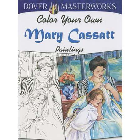 Mara Painting - Color Your Own Mary Cassatt Paintings