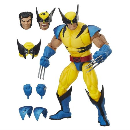 Marvel Legends Wolverine Action Figure Detailed Articulated Customizable 12