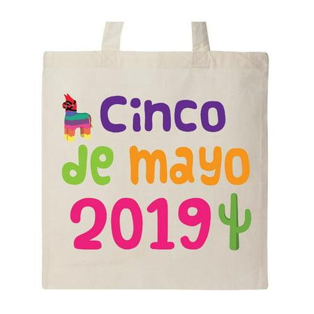 Cinco De Mayo 2019 Fiesta Celebration Tote Bag Natural One Size ()