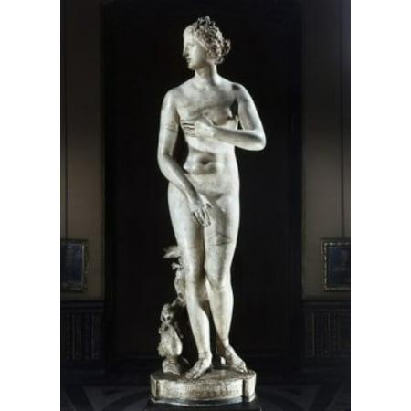 Medici Venus Greek Art Marble Galleria degli Uffizi Florence Italy Canvas Art -  (18 x - Venus Greek