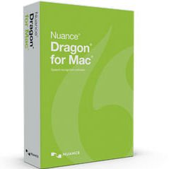 Nuance S601A-F00-5.0 Dragon for MAC Academic Version 5 (Dragon Dictate 3 For Mac)