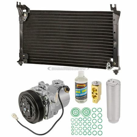 Suzuki Esteem Ac Compressor (A/C Kit w/ AC Compressor Condenser & Drier For Suzuki Esteem 1.8L)