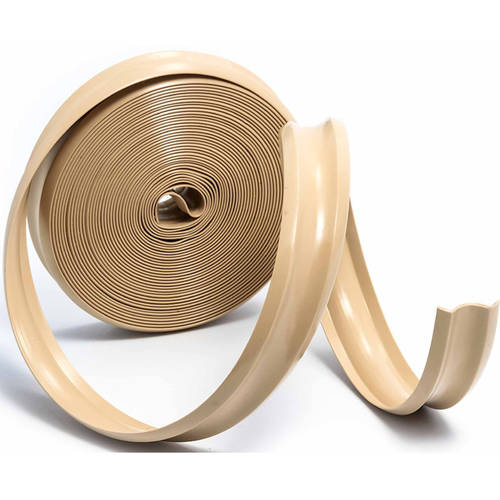 Camco Vinyl Trim Insert for Aluminum Roof Edge, Trim Molding and Truck Camper Shells