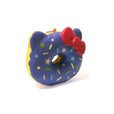 Authentic Sanrio Licensed Hello Kitty Big Donut Squishy By NIC - Grape