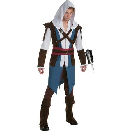 Assassin's Creed IV: Black Flag Edward Kenway Classic Mens Costume Bundle - Edward Kenway Kids