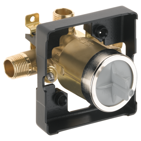 Delta: MultiChoice Universal High-Flow Shower Rough - Universal Inlets / Outlets