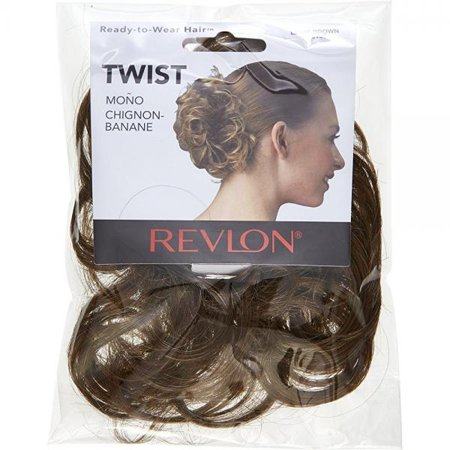 revlon spare hair twist hairpiece light brown
