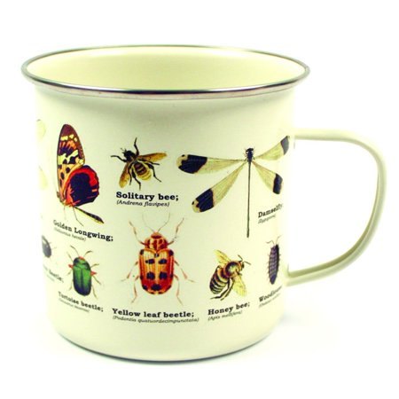 Holiday Enamel - Insects Enamel Mug