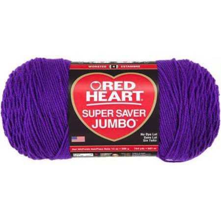 Red Heart Super Saver Amethyst Yarn, 1 Each for $<!---->