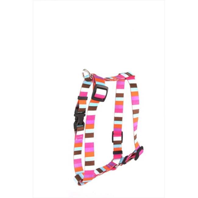 Yellow Dog Design Multi-Stripe Roman Harness
