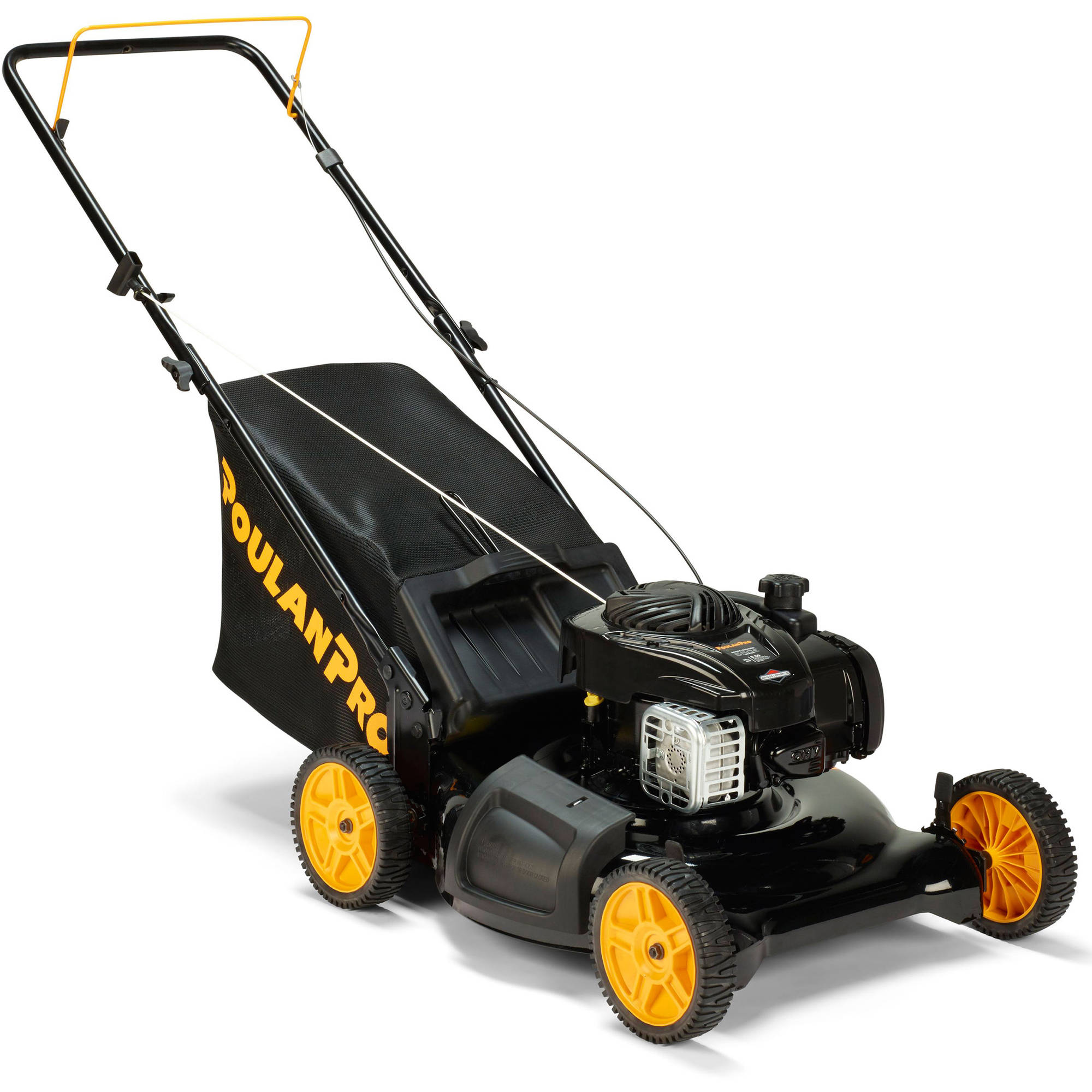 """Poulan Pro 21"""" 140cc 3-in-1 Lawnmower with side-discharge"""