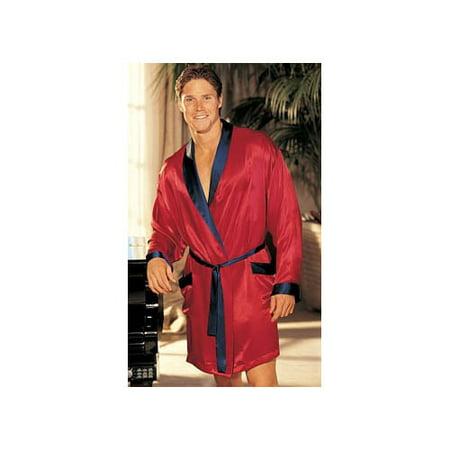 Shirley of Hollywood Elegant Two-Tone Charmeuse Uni-Sex Robe 20061 305a3548c