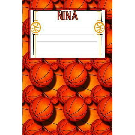 Basketball Life Nina: College Ruled Composition Book Paperback (Nina Sofa)