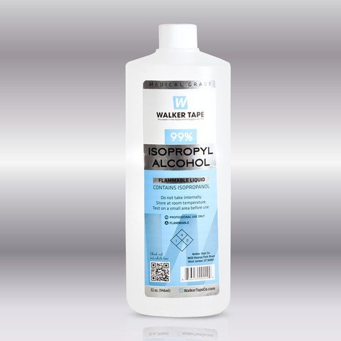 Walker Tape 99% Isopropyl Alcohol 32oz
