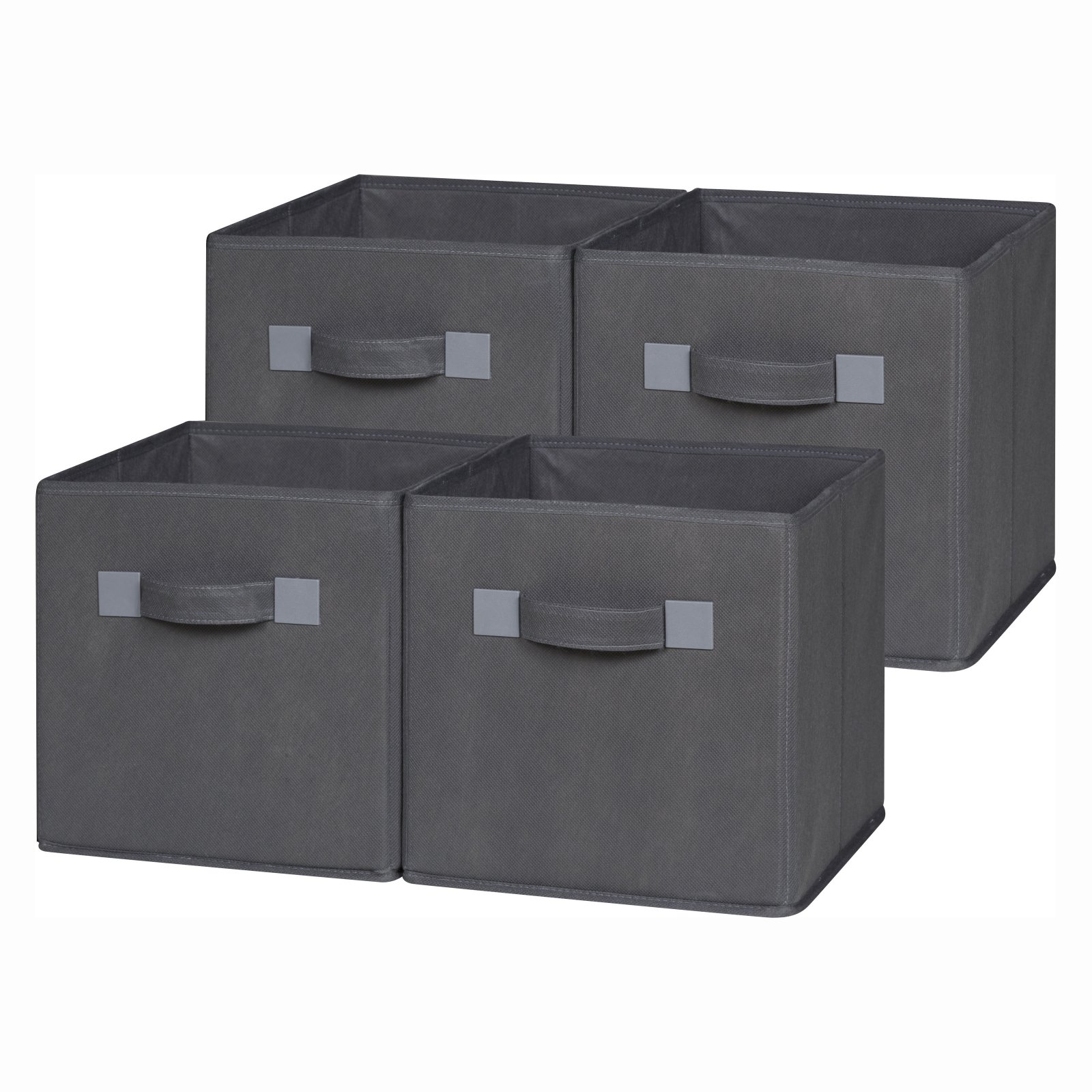 Product Image Comfort Products Storage Cube Basket Bin, 4pk, Multiple Colors
