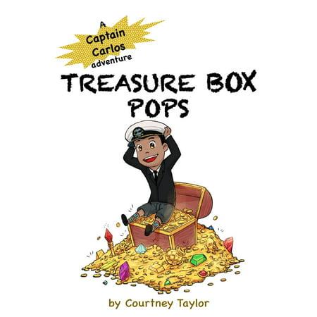 Captain Carlos Adventure: Treasure Box Pops: A Captain Carlos Adventure (Paperback)