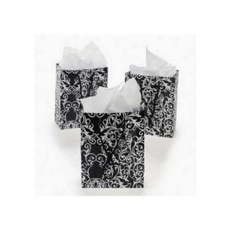 Wedding Gift Bags Walmart : ... Black & White Wedding Gift Bags (1 dozen) - Bulk [Toy] - Walmart.com