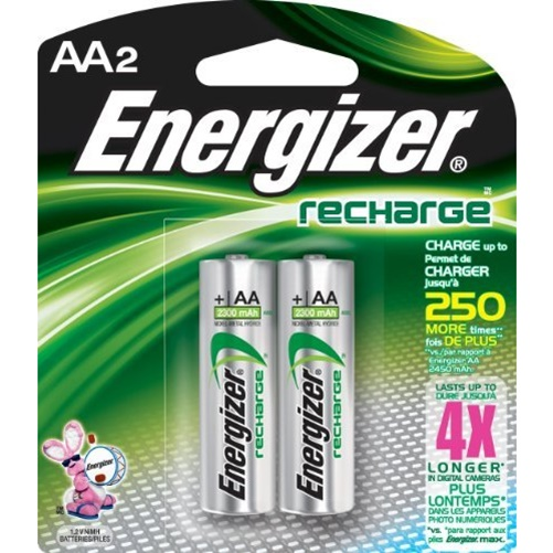 Energizer Recharge AA Rechargeable Battery